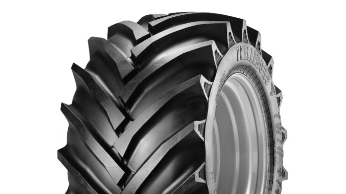 Trelleborg T414 Agricultural Twin Tractor Tyre