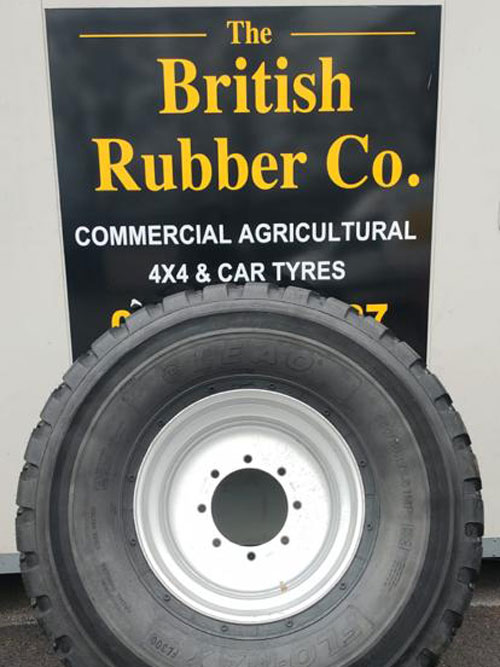 560/45R22.5 Agricultural Trailer Wheel Assembly